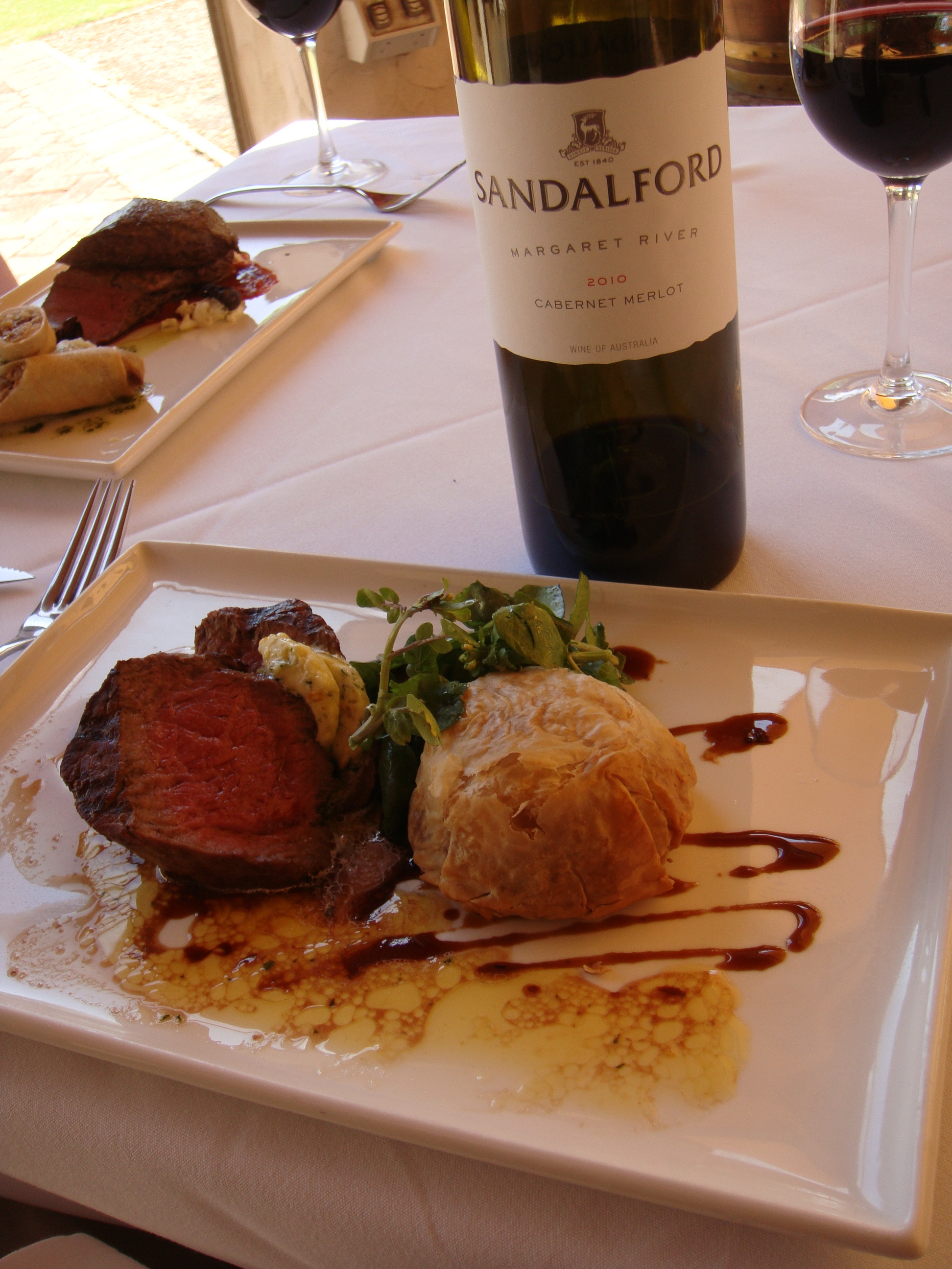 Lunch at Sandalford in the Swan Valley