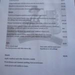 Duckstein Brewery Swan Valley Perth menu