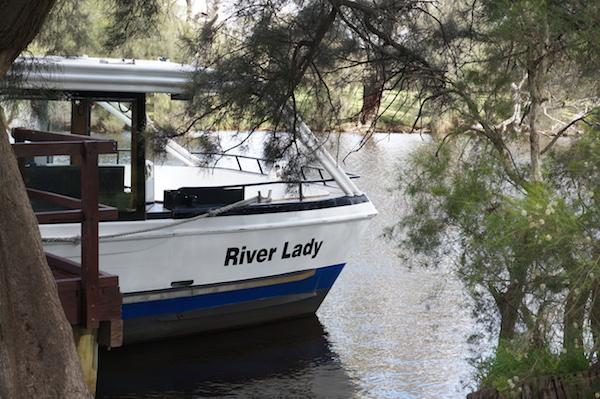 RedBalloon Perth Wine Cruise - River Lady Boat