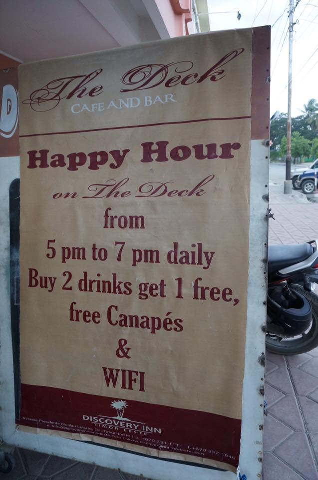 Discovery Inn Dili Happy Hour