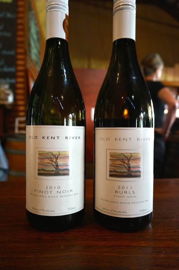 Old Kent River Winery Pinot Noir