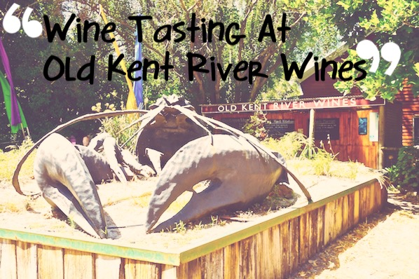 Wine tasting at Old Kent River Wines