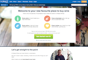 Comparing Online Wine Shopping - Naked Wines