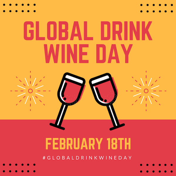 FOR IMMEDIATE RELEASE: Drink Wine Day – Feb 18th