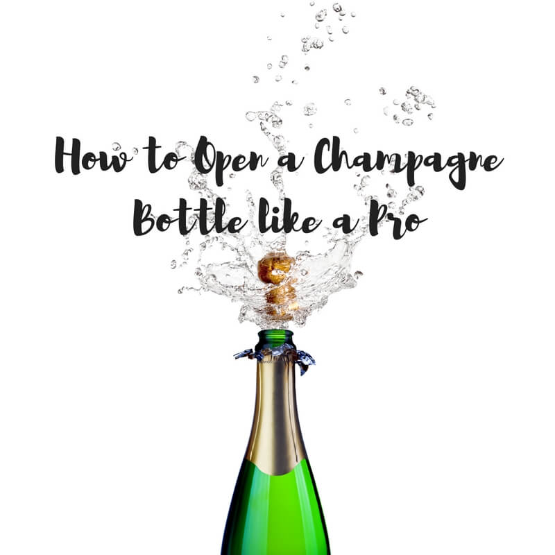 How to Open a Champagne Bottle like a Pro