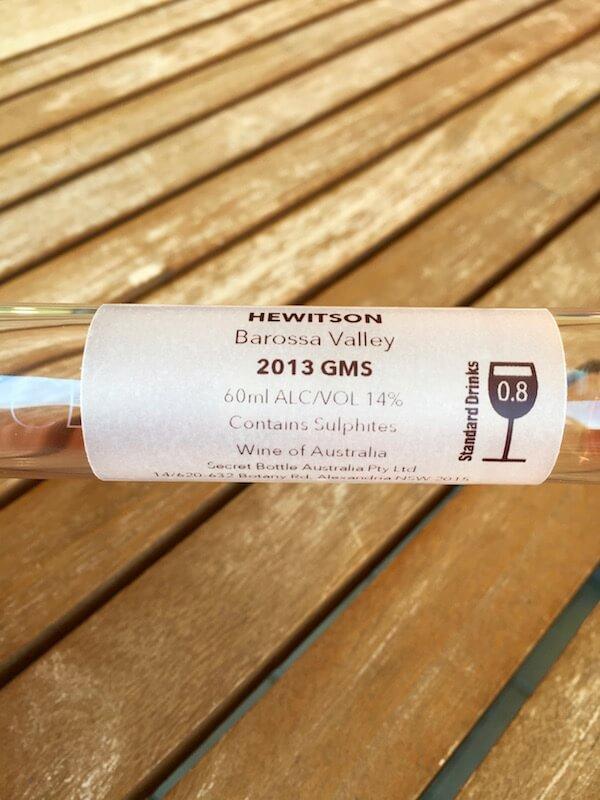 Secret Bottle Wine Club - Hewitson Red Blend