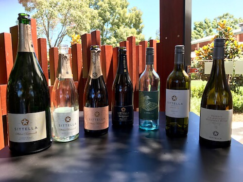 Bubbles and White Wines from Sittella