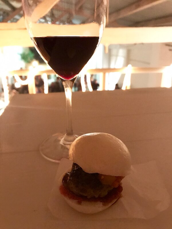 Blackwood Valley Beef Mini Burger at Brown Brothers Patricia Launch