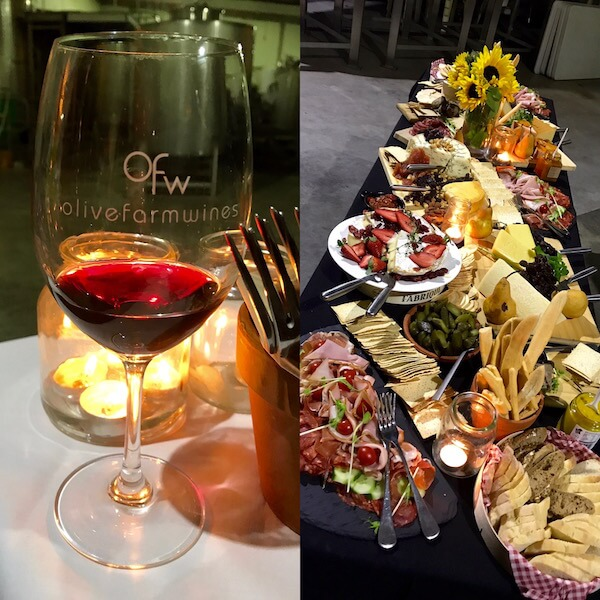Olive Farm Wines New Release & Cheese Night 2017