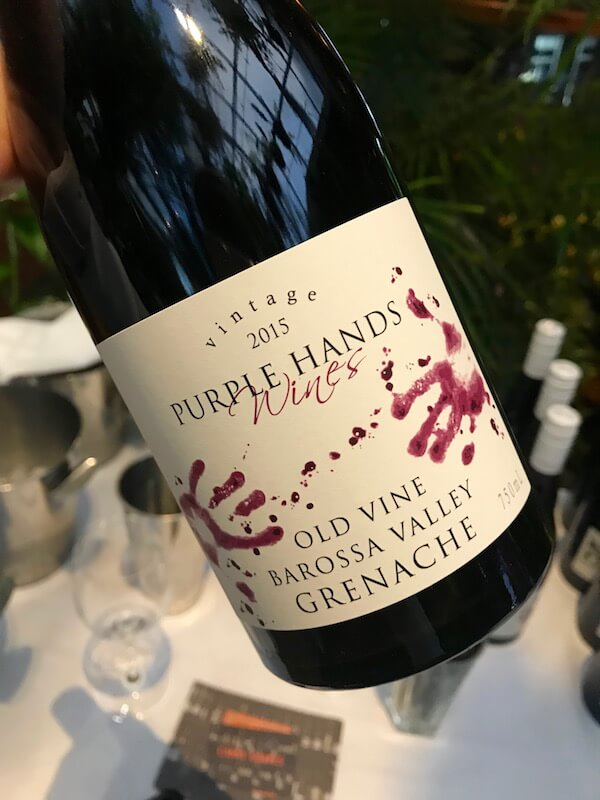 Purple Hands 2015 Old Vine Shiraz - Barossa Valley
