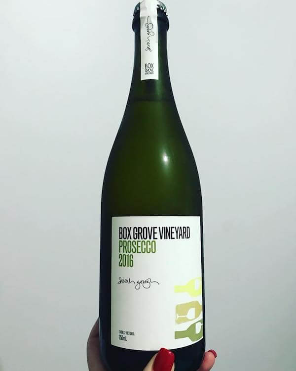 Box Grove Vineyard 2016 Prosecco