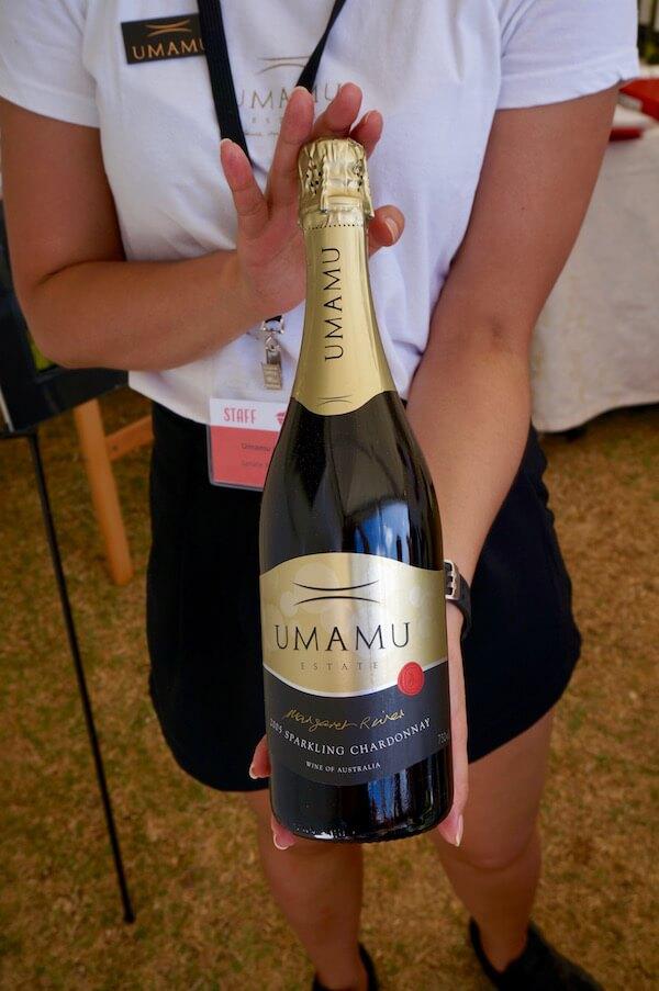 Umamu 2005 Sparkling Chardonnay - Sunset Wine 2018