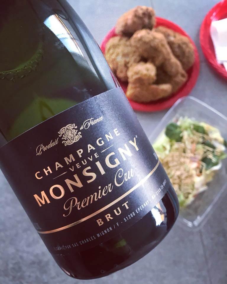 Champagne Veuve Monsigny Premier Cru Brut - Aldi Champagne