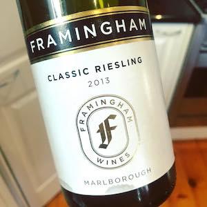 Framingham 2013 Classic Riesling