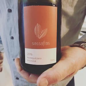 Sassafras Wines 2016 Montepulciano Ancestral