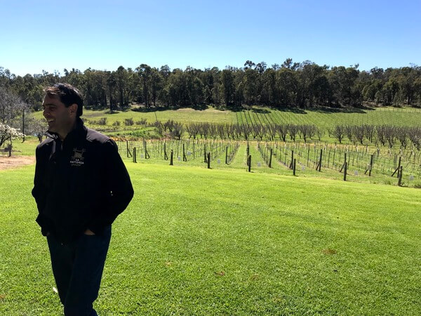 eric-radice-standing-in-front-of-the-vineyards-la-fattoria-perth-hills-bickley-valley