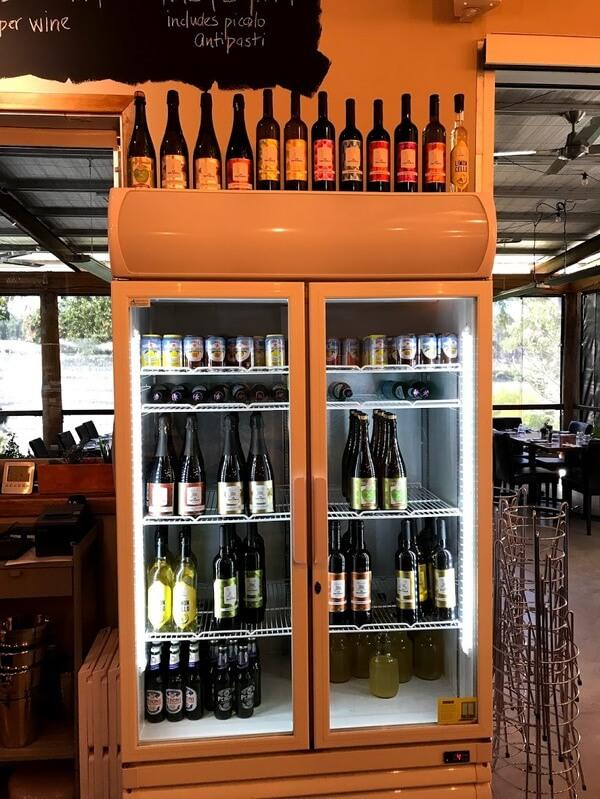 the-wine-fridge-at-la-fattoria-perth-hills-bickley-valley