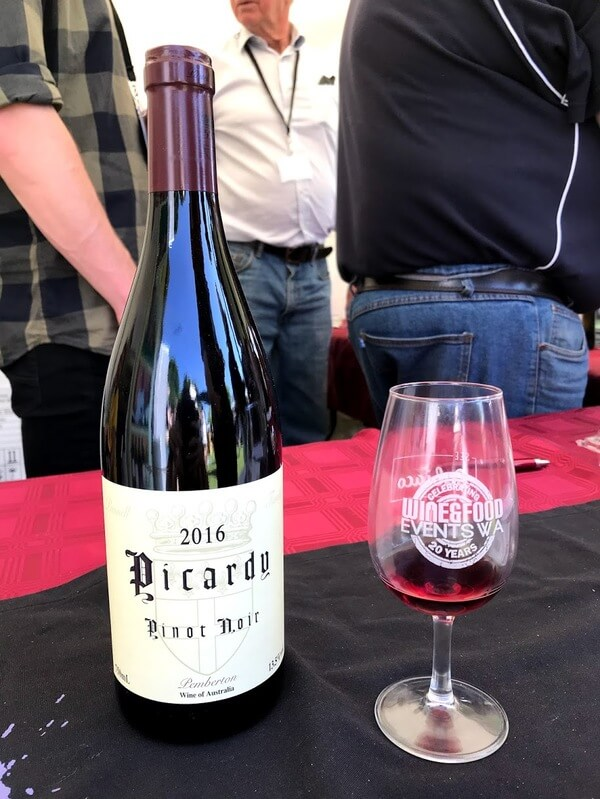 bottle-and-glass-of-picardy-pinot-noir