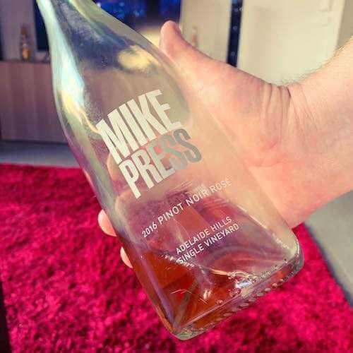 Mike Press 2016 Sparkling Rosé Adelaide Hills