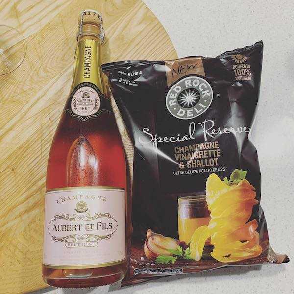 Champagne Aubert et Fils Brut Rose