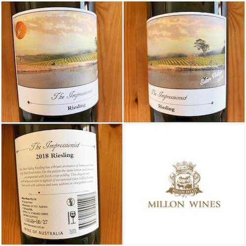 Millon Wines The Impressionist 2018 Riesling