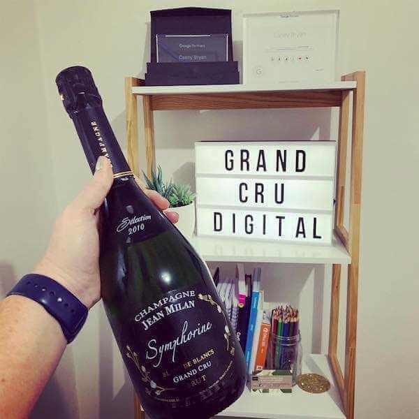 Champagne Jean Milan Symphorine Blanc de Blancs Grand Cru Brut