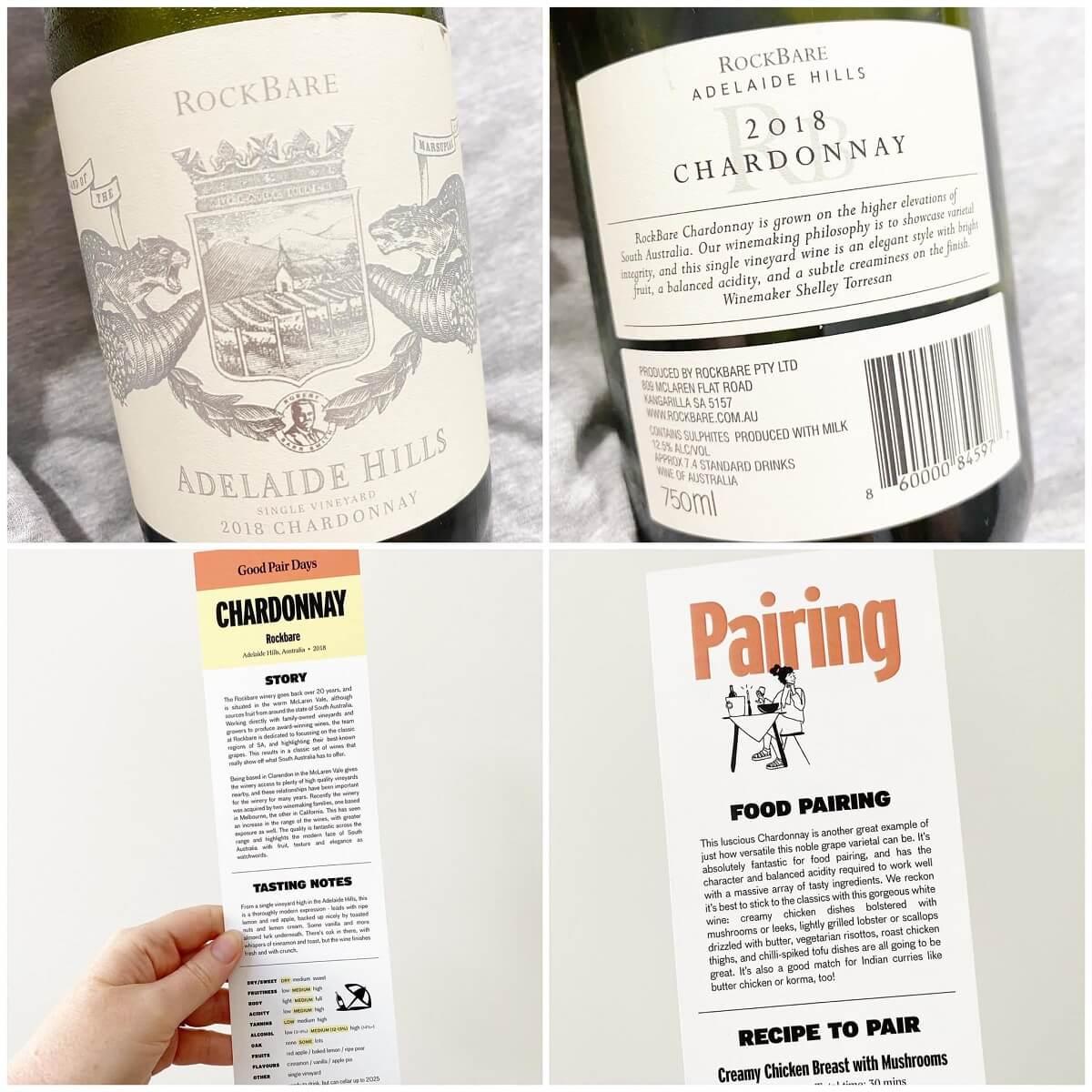 Rock Bare 2018 Chardonnay