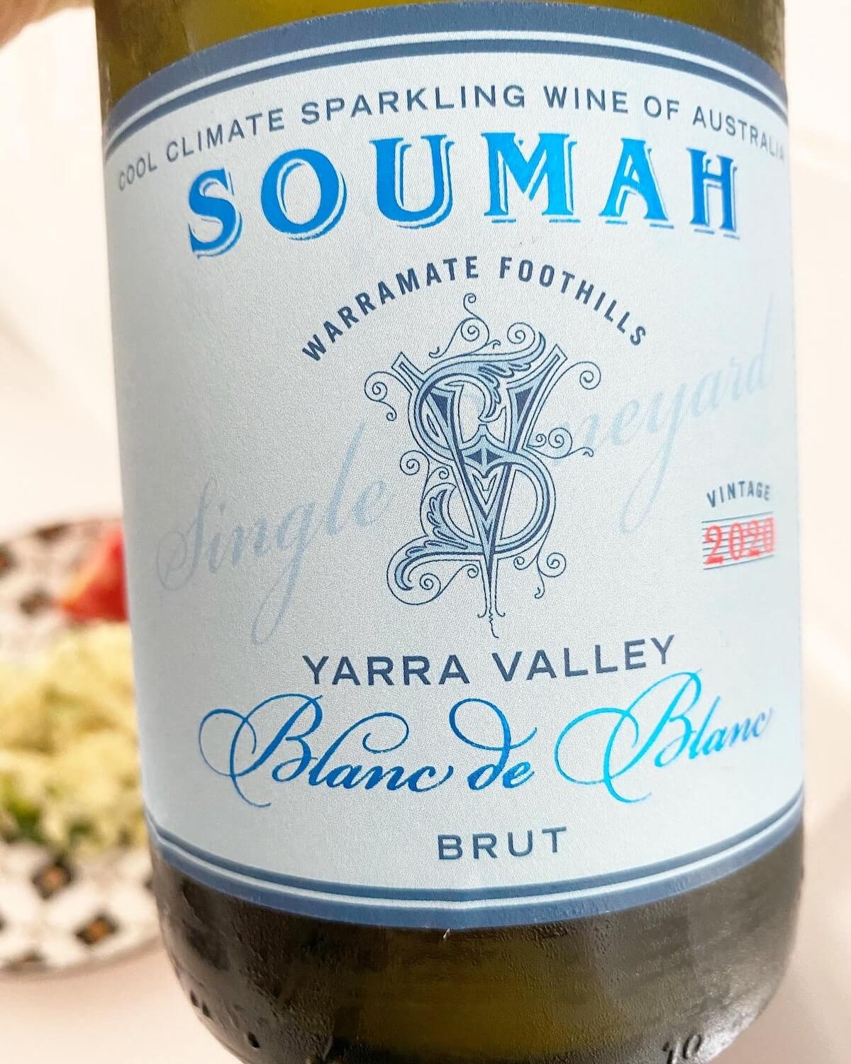 Soumah Single Vineyard Blanc de Blanc Brut Sparkling 2020