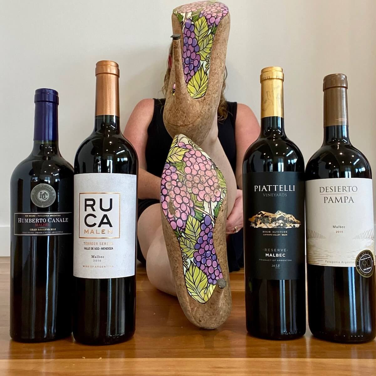 Argentine Malbecs available in Austraia from Sol Y Vino and wine high heels