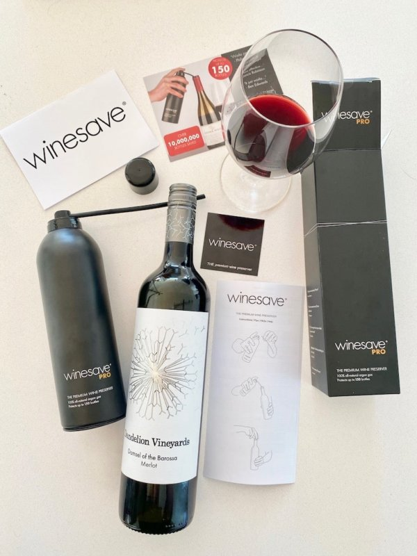 Testing out the winesave pro wine preserver spray